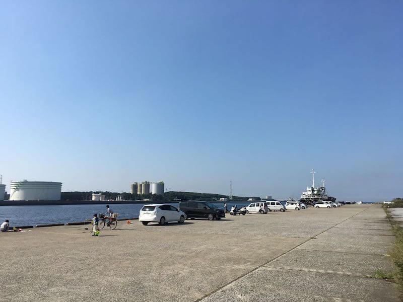 長浦港の釣り場15