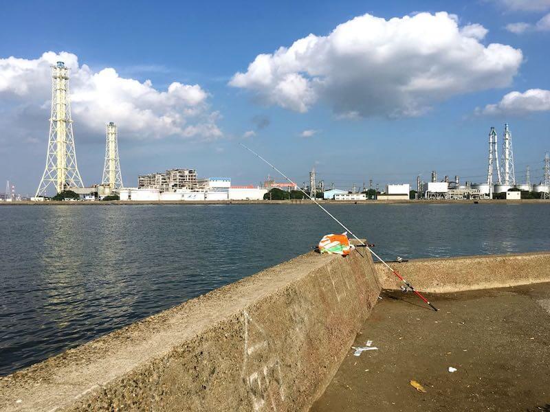 養老川河口の釣り場18