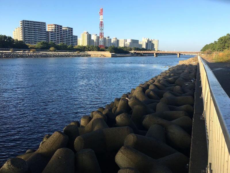 検見川浜の釣り場35