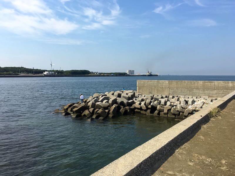 長浦港の釣り場08
