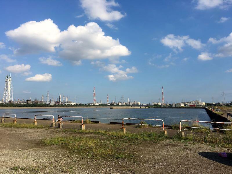 養老川河口の釣り場11