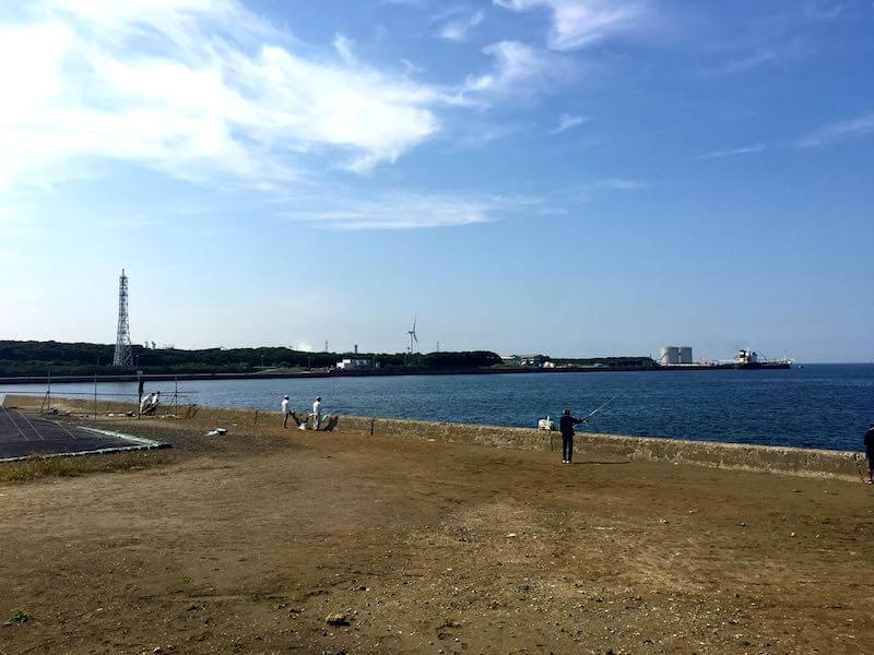 長浦港の釣り場10