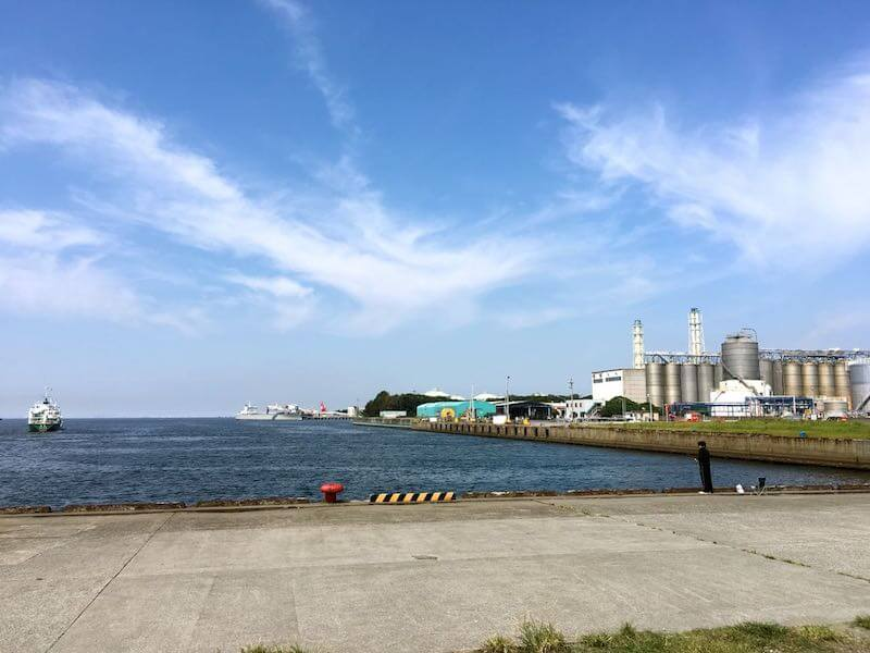 袖ヶ浦港 今井岸壁の釣り場9