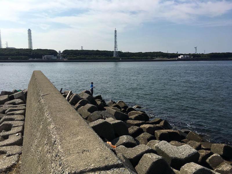 長浦港の釣り場07