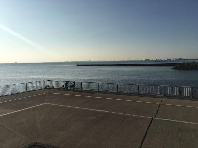 検見川浜の釣り場30