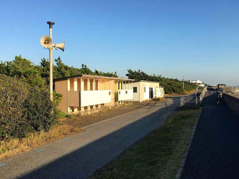 検見川浜の釣り場41