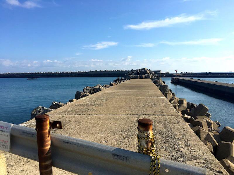 黒生港の釣り場16