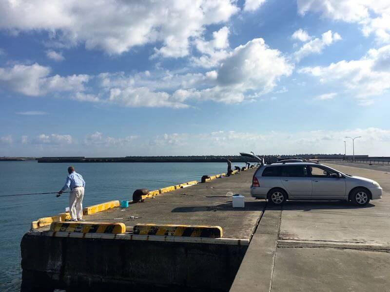 銚子外港の釣り場22