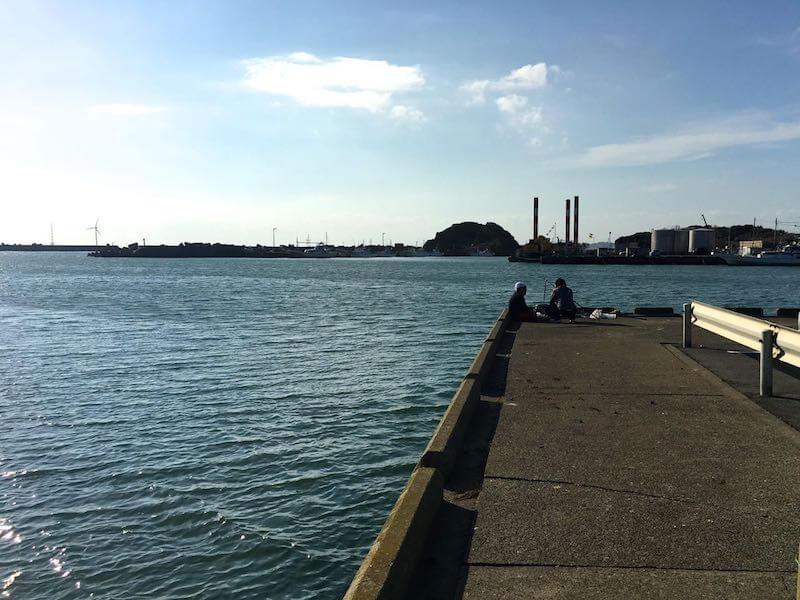 外川港の釣り場05