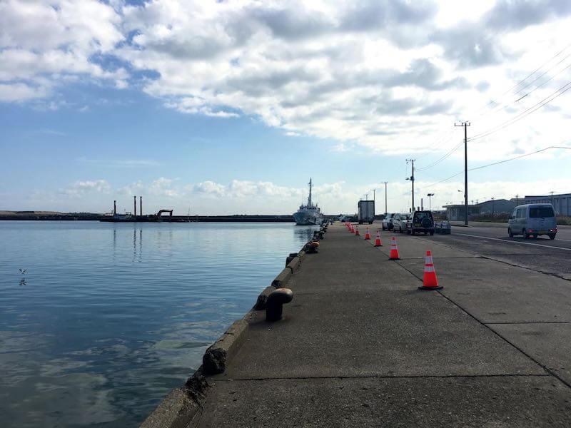 銚子外港の釣り場13