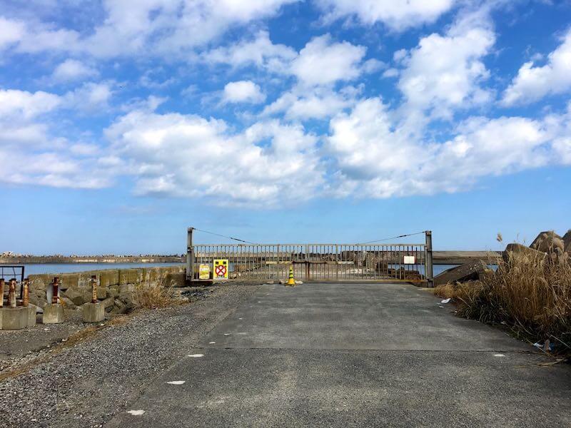 銚子外港の釣り場16