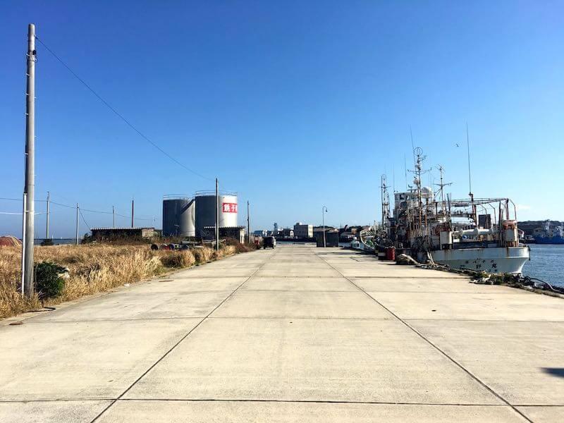 銚子港の釣り場13