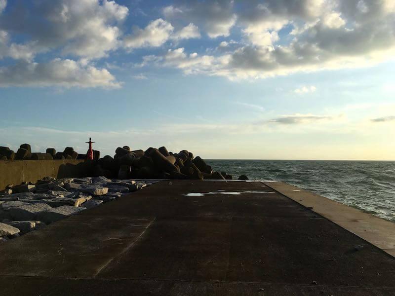 飯岡港の釣り場14