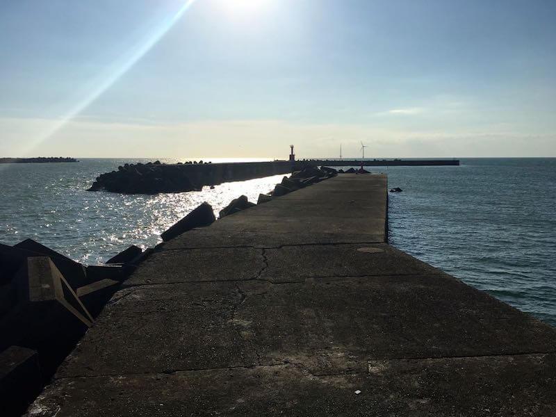 外川港の釣り場20