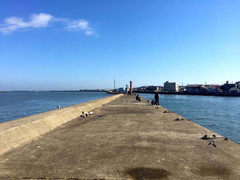 銚子港の釣り場09