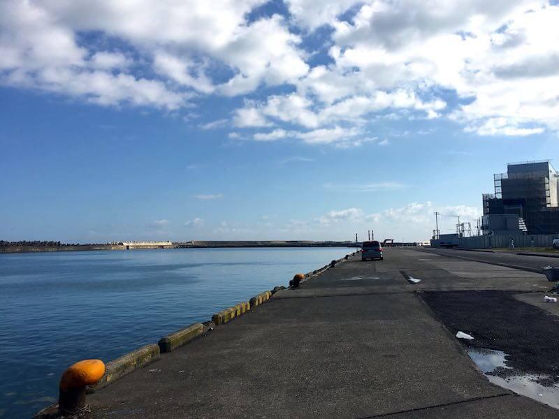 銚子外港の釣り場12
