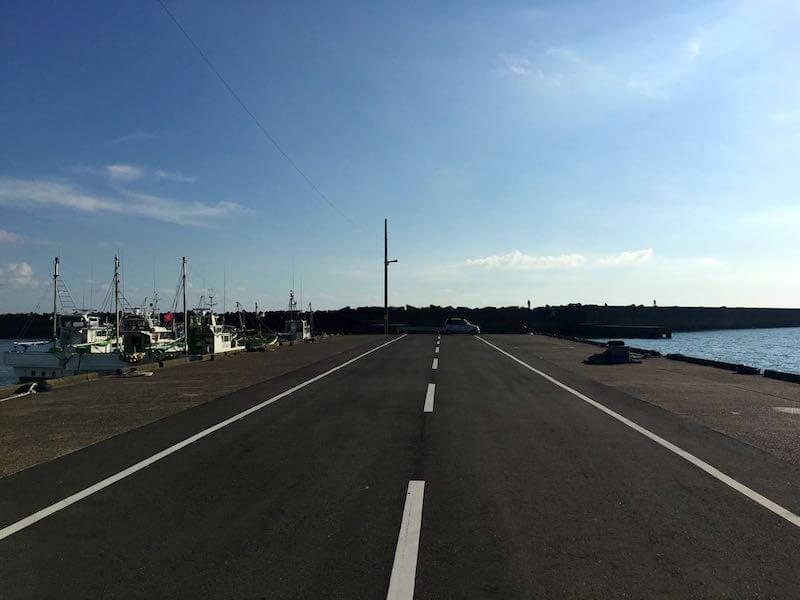 外川港の釣り場03