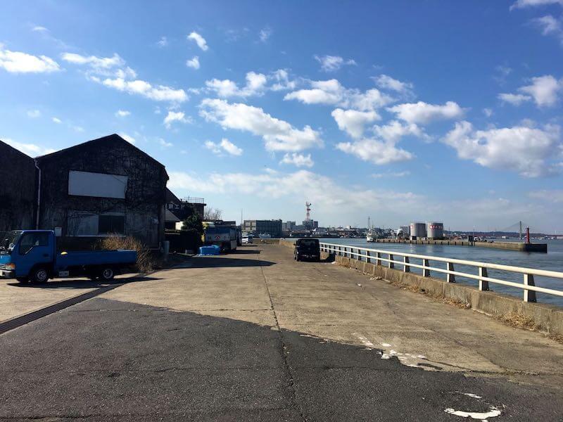 銚子港の釣り場18
