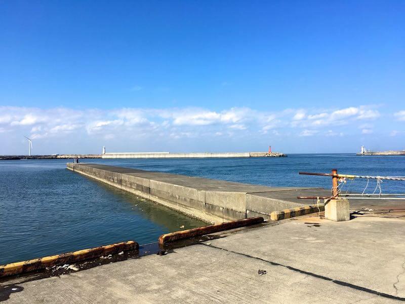 銚子外港の釣り場06