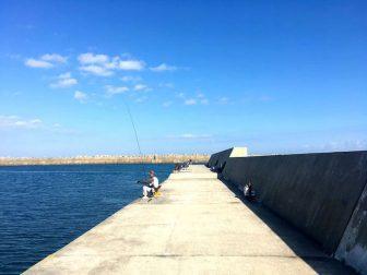 黒生港の釣り場14