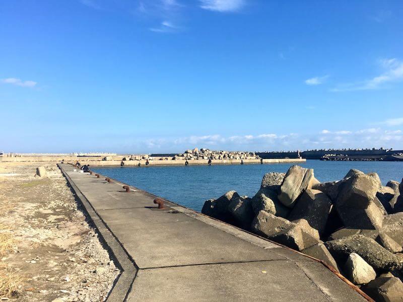 黒生港の釣り場20
