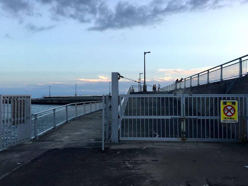 飯岡港の釣り場34
