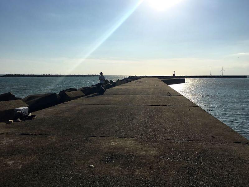 外川港の釣り場18
