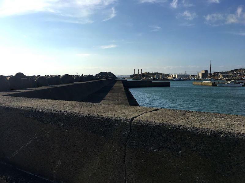 外川港の釣り場14