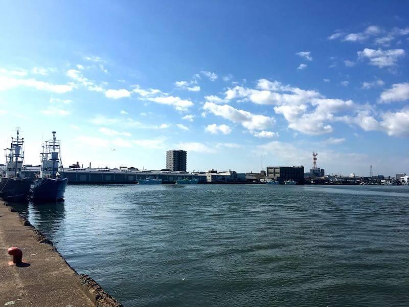 銚子港の釣り場17