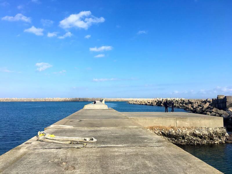 黒生港の釣り場10