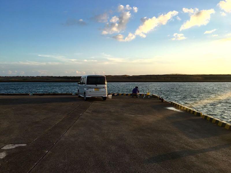 飯岡港の釣り場21