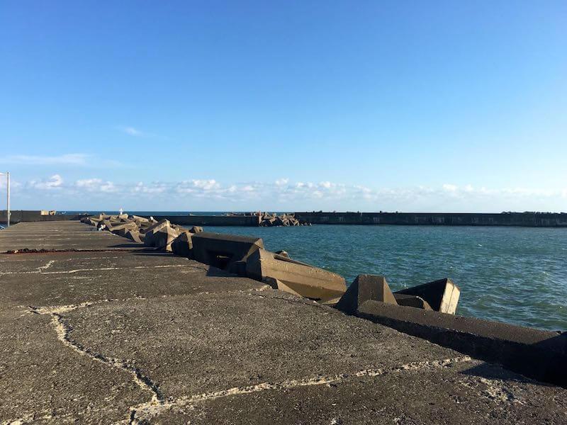 外川港の釣り場30