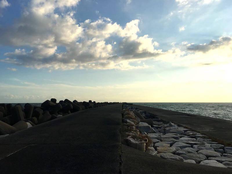 飯岡港の釣り場10