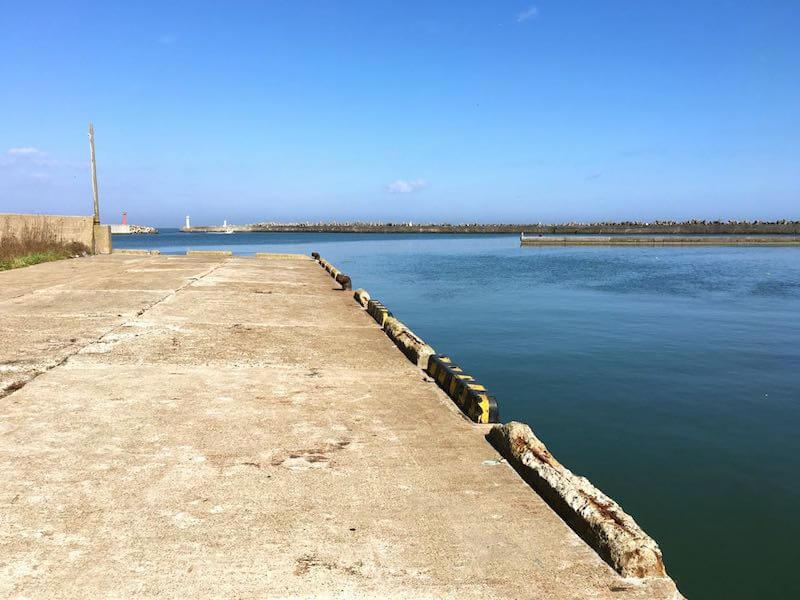 銚子外港の釣り場02