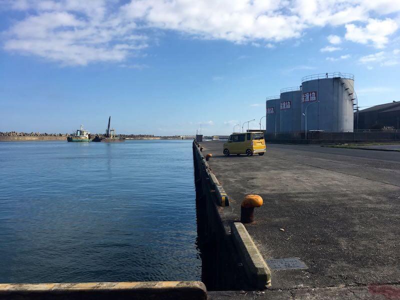 銚子外港の釣り場11