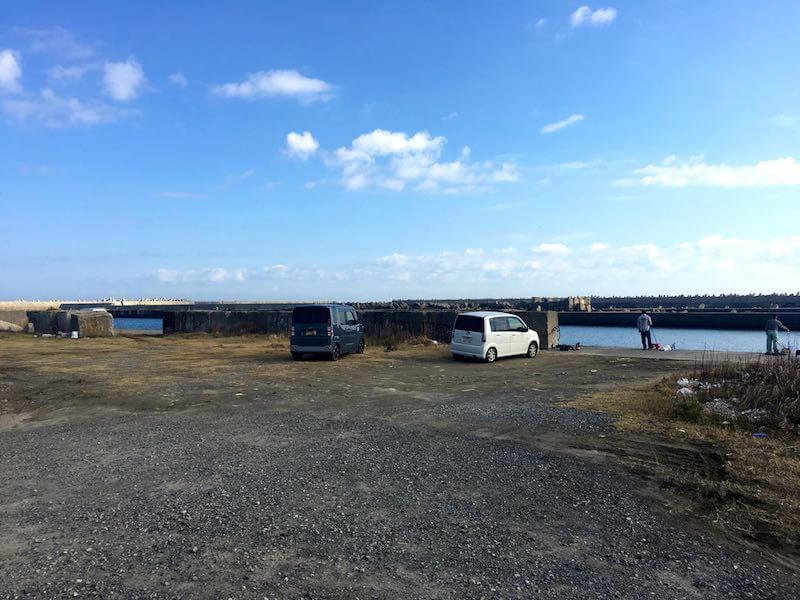黒生港の釣り場04