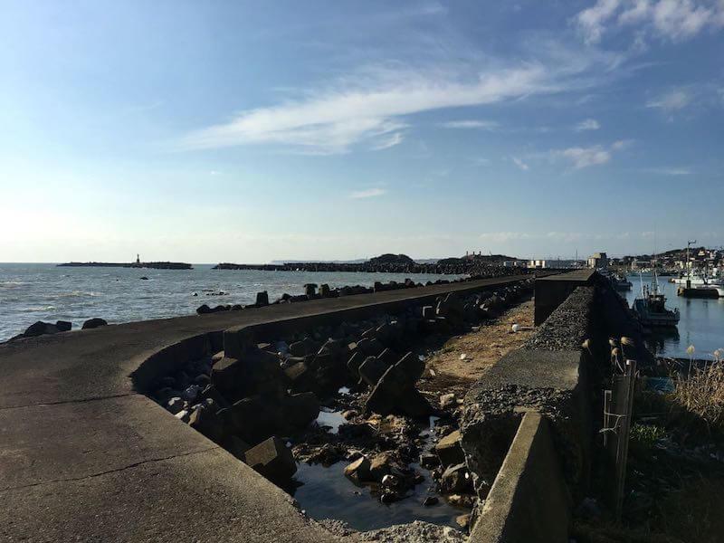 外川港の釣り場11
