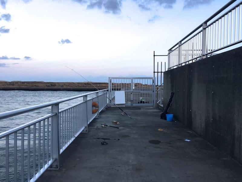 飯岡港の釣り場40