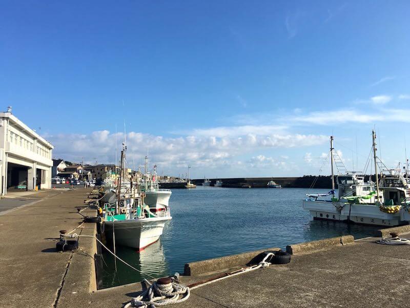 外川港の釣り場04
