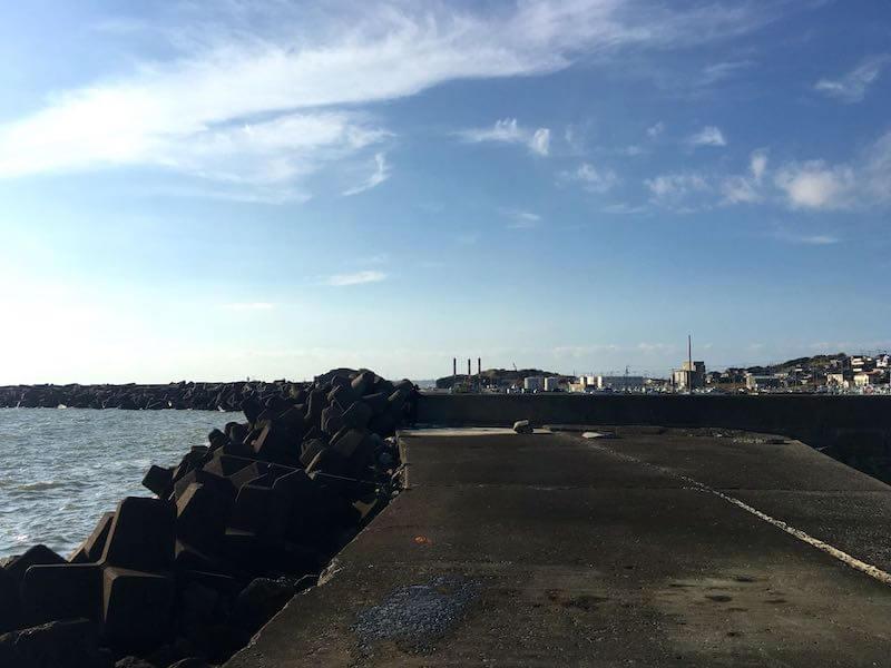 外川港の釣り場13