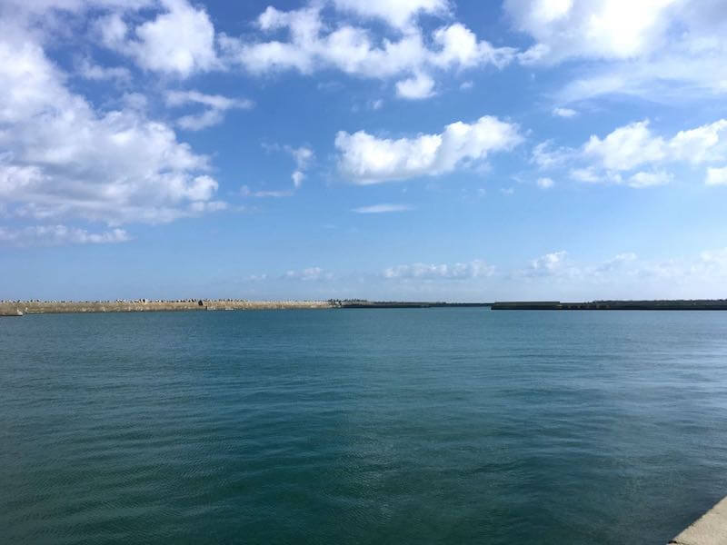 銚子外港の釣り場20