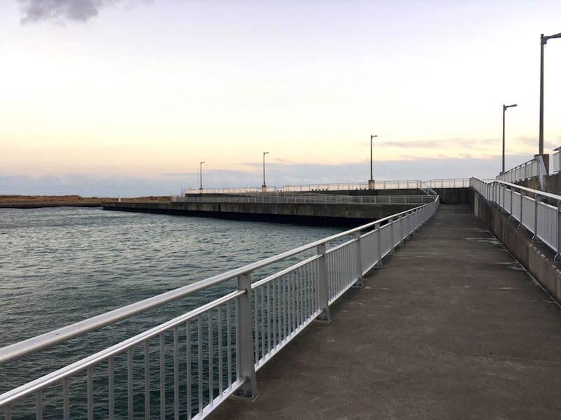 飯岡港の釣り場42
