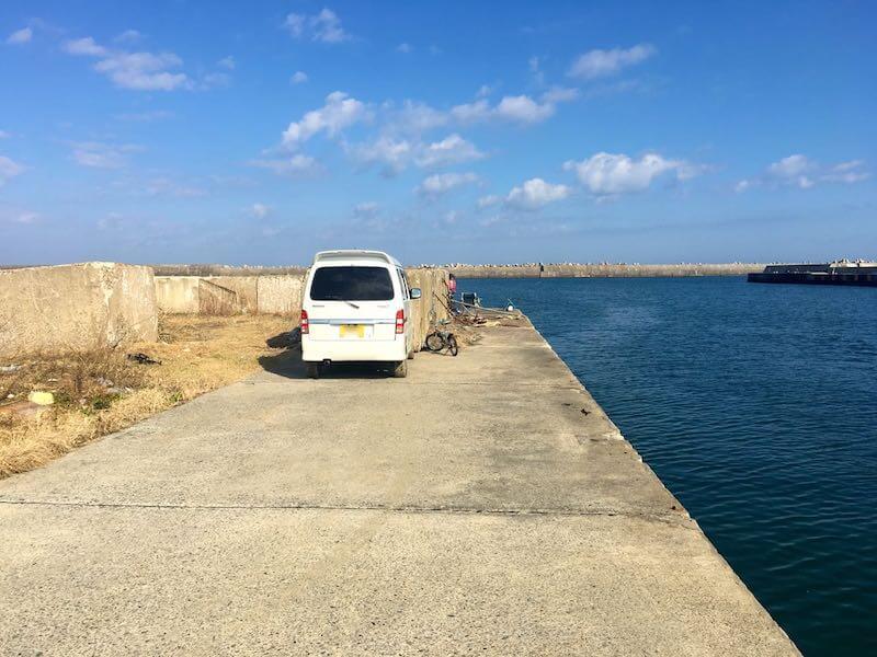 黒生港の釣り場01