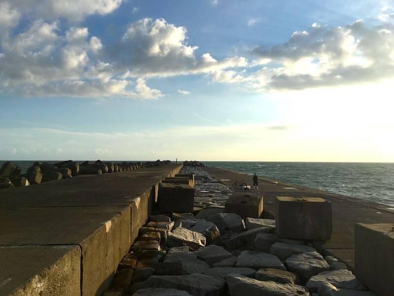 飯岡港の釣り場12