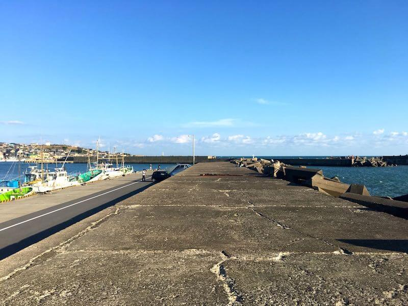 外川港の釣り場29