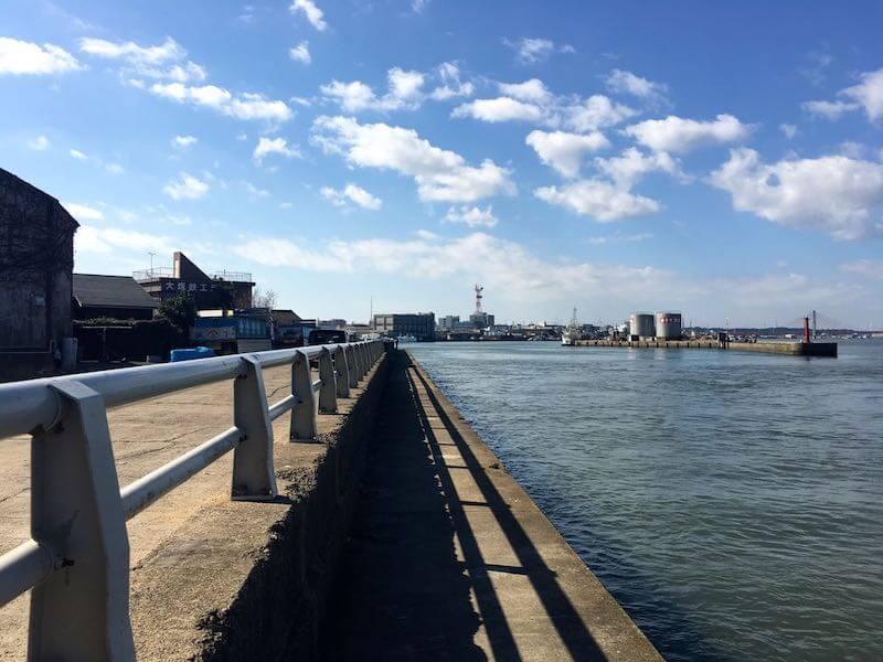 銚子港の釣り場19