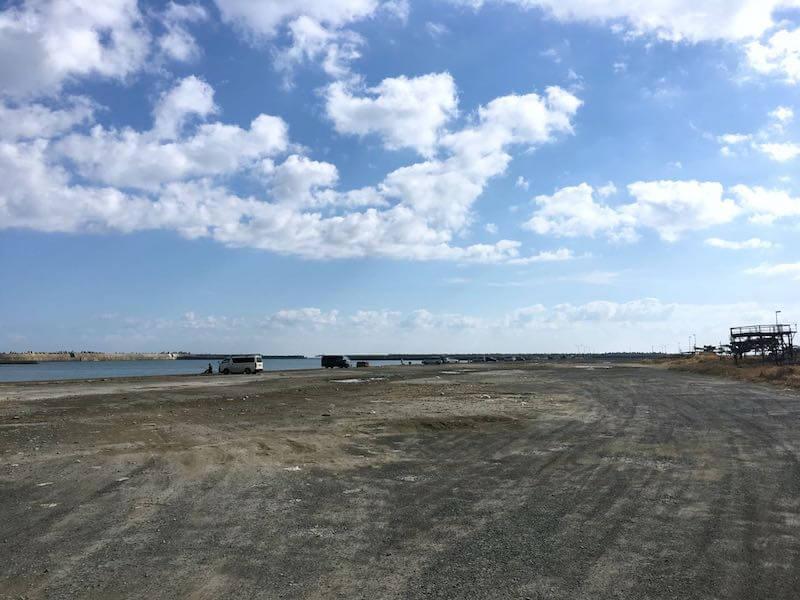 銚子外港の釣り場015