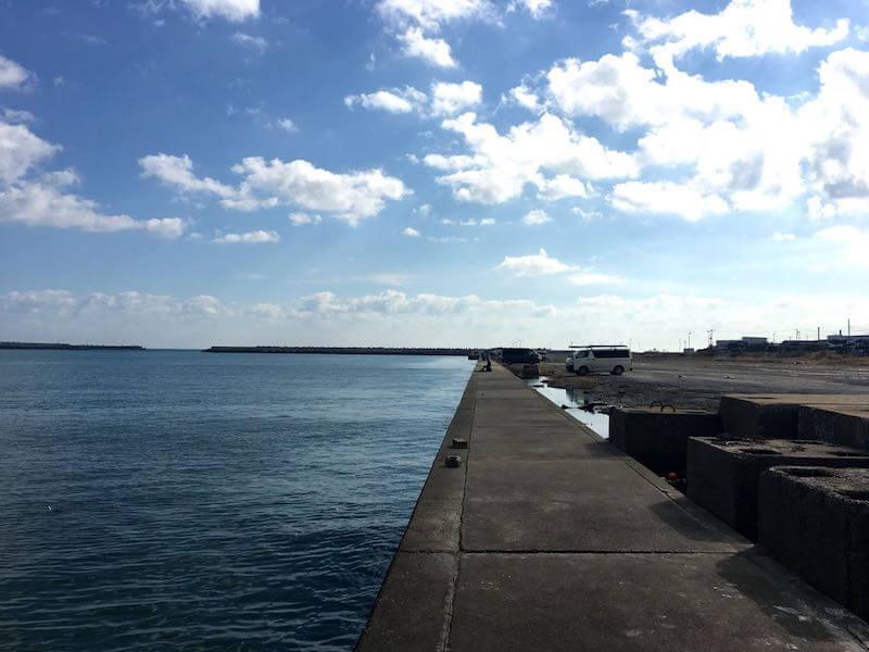銚子外港の釣り場18