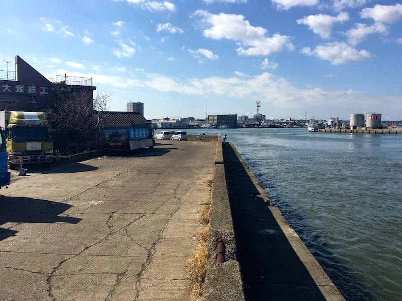 銚子港の釣り場20