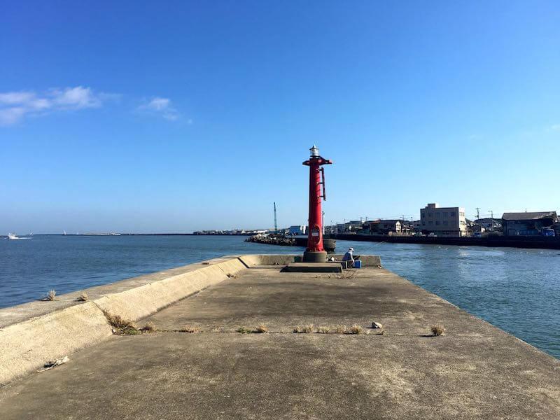 銚子港の釣り場10
